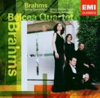 Brahms: String Quartet No 1, Etc / Kakuska, Belcea Quartet