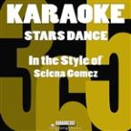 Stars Dance (In The Style Of Selena Gomez) [karaoke Version] - Single
