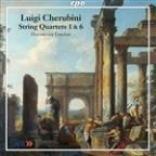 Cherubini: String Quartets 1 & 6 / Hausmusik London