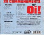 29 Commandments Of Oi!