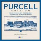 Purcell Edition Volume 2 : The Indian Queen, The Tempest, Dioclesian & Timon of Athens