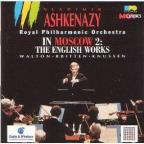Ashkenazy In Moscow 2:English Works