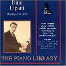 Piano Library - Dinu Lipatti - Recordings 1936-48