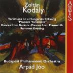 Kodaly: Peacock Variations; Dances; Summer Evening