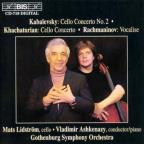 Kabalevsky: Cello Concerto No. 2; Khachaturian: Cello Concerto; Rachmaninov: Vocalise