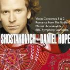 Shostakovich: Violin Concertos 1 & 2; Romance from The Gadfly