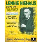 Lennie Niehaus Plays The Blues - Eb Edition Book/CD