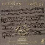 Chopin: Piano Works Vol 12 - Songs / Ohlsson, Podles