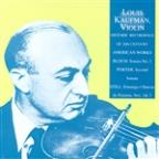 Historic Recordings: Bloch Violin Sonata #1