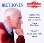 Beethoven: Sonatas Appassionata and Les Adieux; Eroica Varations