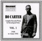 Bo Carter, Vol. 1 (1928 - 1931)