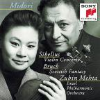 Sibelius: Violin Concerto; Bruch: Scottish Fantasy