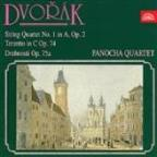 Dvorák: String Quartet No. 1, Terzetto, Miniatures