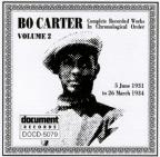 Bo Carter, Vol. 2: (1931 - 1934)