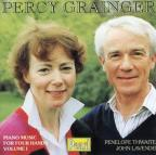 Grainger: Piano Music for Four Hands. Vol. 1