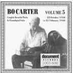 Bo Carter, Vol. 5 (1938 - 1940)