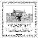Rare Country Blues, Vol. 2: 1929 - 1943