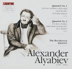 Alyabiev:Quartet No. 1/Quartet No. 3