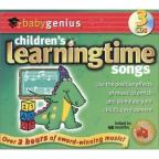 *Children's Learningtime Songs 3PK