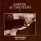 Bartok At The Piano
