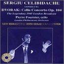 Sergiu Celibidache conducts Dvorak: Cello Concerto /Fournier