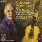 J.S. Bach: Partita No. 2 for Violin; Suite No. 3 for Cello; Gaspar Sanz: Suite Espanola