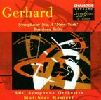 "Gerhard: Symphony no 4 ""New York,"" etc / Bamert, B.B.C. SO"