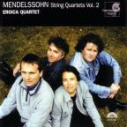 Mendelssohn: String Quartets Vol 2 / Eroica Quartet