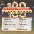 100 Masterpieces, Vol.4 - The Top 10 Of Classical Music: 1788 - 1810