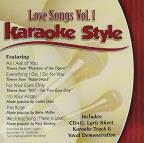 Karaoke Style: Love Songs, Vol. 1