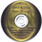 Black & Gold Moon Rising