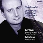 "Dvorak: Symphony No. 9 ""From the New World""; Martinu: Symphony No. 2"