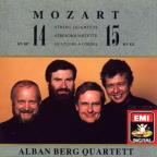 Mozart: String Quartets No 14 And 15 / Alban Berg Quartet