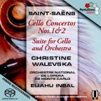 Saint-Saens: Cello Concertos Nos. 1 & 2; Suite for Cello and Orchestra