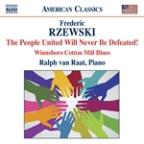 Frederic Rzewski: The People United Will Never Be Defeated!