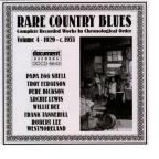 Rare Country Blues, Vol. 4: 1929 - 1953