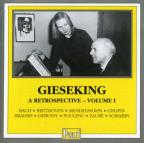 Gieseking - A Retrospective, Vol. 1