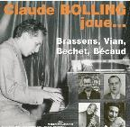 Plays Brassens, Bechet, Vian, Becaud