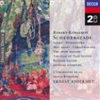 Nikolay Rimsky-Korsakov: Scheherazade; Sadko; Dubinushka; May Night; Christmas Eve; The Snow Maiden; etc.