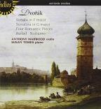 Dvorak: Music for Violin and Piano