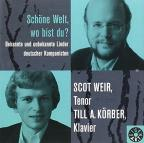 Schone Welt Wo Bist Du: German Songs