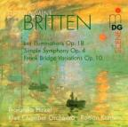 Britten: Les Illuminations; Simple Symphony; Frank Bridge Variations