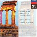 Beethoven: Symphonies 2, 4, 5 & 7 / Monteux, London So