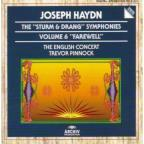 "Haydn: The ""Sturm & Drang"" Symphonies Vol 6 / Pinnock"