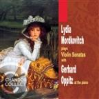 Lydia Mordkovitch Plays Violin Sonatas with Gerhard Oppitz at the Piano