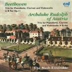 Beethoven: Trio in B flat, Op. 11; Archduke Rudolf of Austria: Trio in B flat