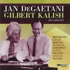Jan DeGaetani & Gilbert Kalish in Concert