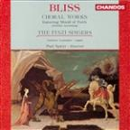 Bliss: Choral Works / Spicer, The Finzi Singers
