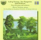 Ludvig Norman, Ture Rangstrom, Adolf Wiklund: Pieces for Piano and Orchestra