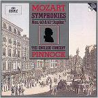 Mozart: Symphonies no 40 & 41 / Pinnock, English Concert